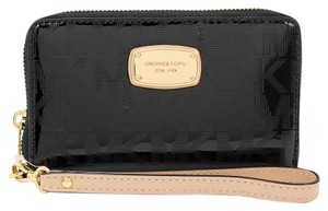 Michael Kors Black Electronics LG Multifunction Phone Case Wallet Wristlet