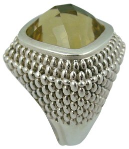 Hilary Joy Hilary Joy 7.62ct Kanguala Quartz Dome Sterling Silver Ring - Size 8