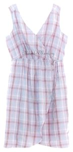 Sundance short dress Purple New Without Tags Plaid Wrap 50s on Tradesy