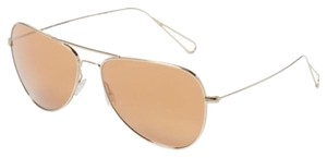 Oliver Peoples Matt Tinted Aviators