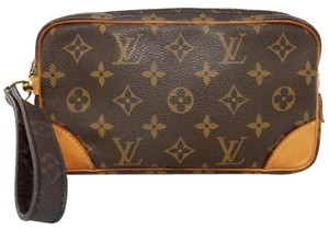 Louis Vuitton Orsay Dragonne Trousse Mary Monogram Clutch