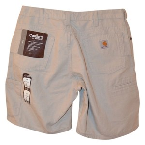 Carhartt Canvas Carpenter Size 12 With Tags New Sale Cargo Shorts Khaki