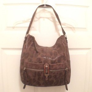 B. Makowsky Leather Purses Hobo Bag