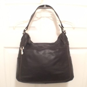 Fossil Purse Leather Hobo Shoulder Bag