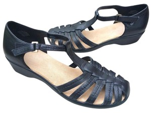 Easy Spirit Comfortable Black Sandals