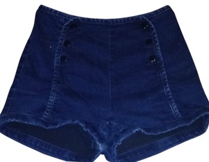 Urban Outfitters Tobi Denim Shorts-Dark Rinse