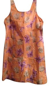 Jones New York short dress Orange on Tradesy