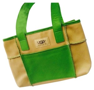UGG Boots Tote in Beige and Green