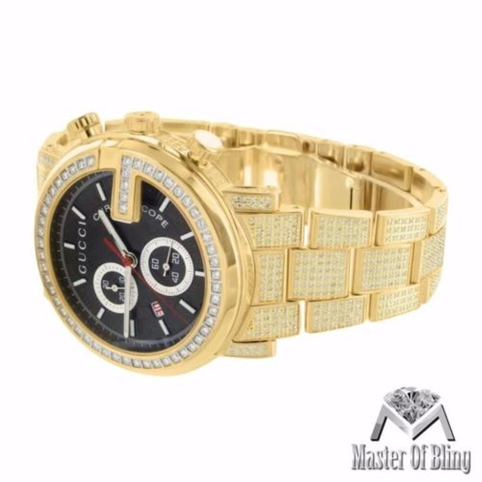 gold white daytona cosmograph rolex watches diamond chest brown yellow leather strap watch