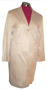 Larry Levine SUIT 24W NWT LARRY LEVINE BEIGE SKIRT CAREER $159 STRETCH LINED