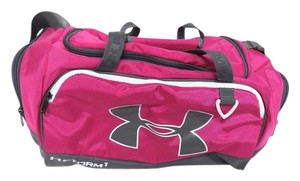 Under Armour Pink & Grey Travel Bag