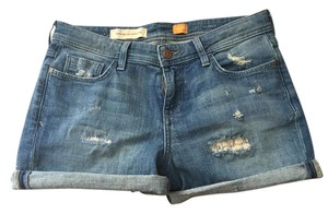 Anthropologie Distressed Summer Cutoffs Mini/Short Shorts Medium Denim Wash
