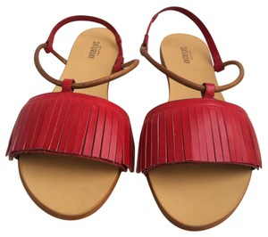 Kate Spade red Sandals