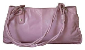 Sigrid Olsen Leather Satchel in Mauve Pink