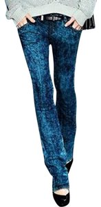 Theory Acid Wash Soft New With Tags Skinny Jeans-Acid
