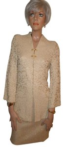 St. John Couture Marie Gray Santana Knit 6 Skirt 4 Jacket