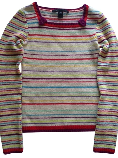 Preload https://item1.tradesy.com/images/marc-by-marc-jacobs-multi-color-striped-lambs-sweaterpullover-size-2-xs-1699825-0-0.jpg?width=400&height=650