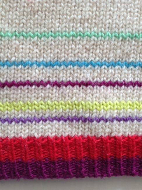Marc by Marc Jacobs Rainbow Lambswool Sweater