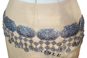 Free People Metal Coin Drop Belt