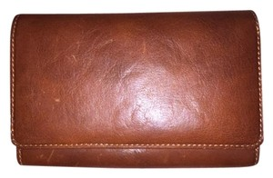 Tony Perotti TONY PEROTTI WOMENS ITALIAN LEATHER ZIP AROUND CLUTCH CREDIT CARD WALLET WITH COIN POCKET