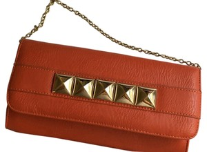 Nasty Gal Orange Clutch