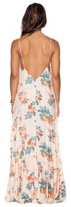 Hibiscus Combo Maxi Dress by Free People Boho Floral Garden