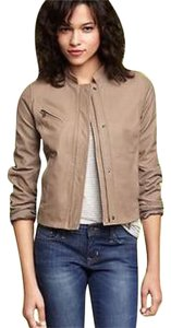 Gap Leather Small Light brown/tan Leather Jacket