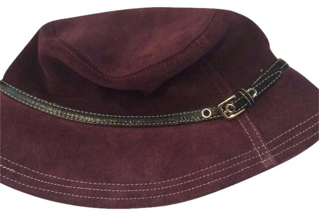 Item - Maroon Suede Size S/M Hat