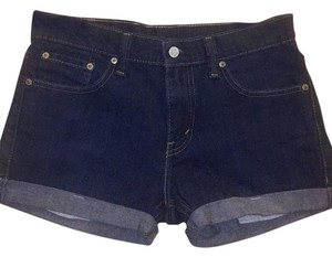 Levi's Cuffed Shorts Dark Wash