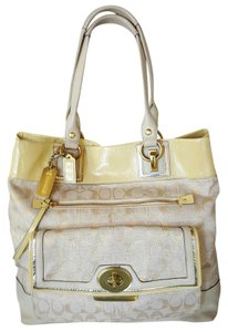 Coach Lurex Penelope Tote Shoulder Bag