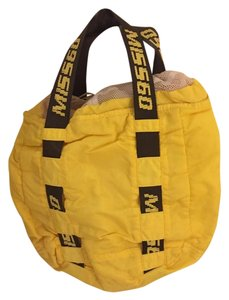 Miss Sixty Yellow Beach Bag