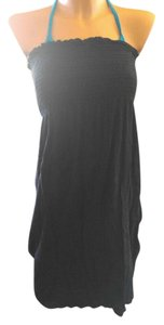 Be Creative New black gauze cotton swim cover-up S