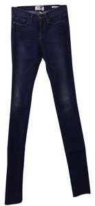 Frame Denim 27 Like New Straight Leg Jeans-Dark Rinse