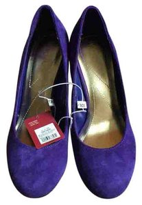Merona Purple Wedges