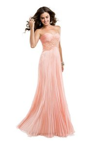 Maggie Sottero Open Back Rhinestone Sweetheart A-line Pleated Dress