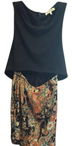 Charles Henry short dress Black/ paisley print on Tradesy
