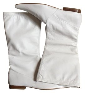 Bakers White Boots