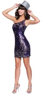Nina Canacci Flirty Sequin Dress