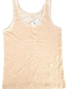 J.Crew Sequin Sequin Top Nude Tan