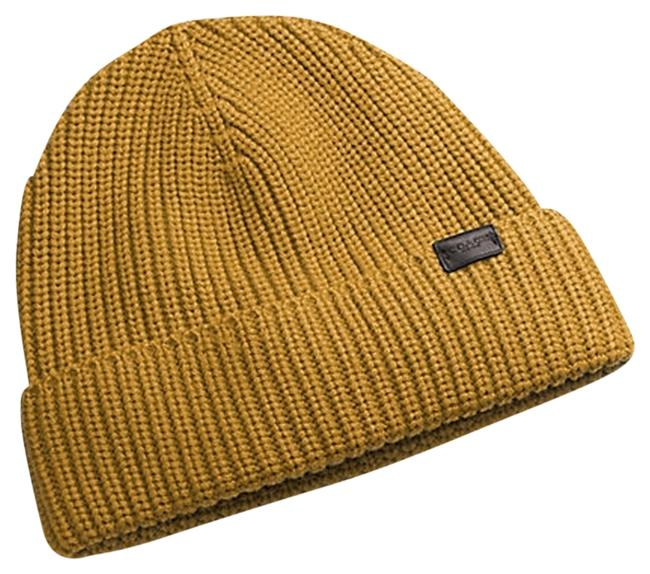 Item - Mustard Ribbed Knit Msrp Hat