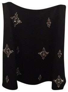 Ted Baker black skirt with gem detail Skirt Black with silver gems