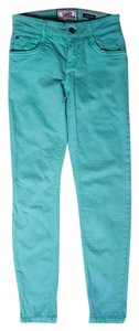 Dorothy Perkins Colored Skinny Jeans-Light Wash