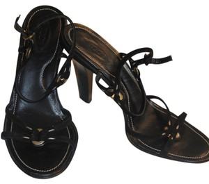 Tod's Evening Holiday Black Sandals