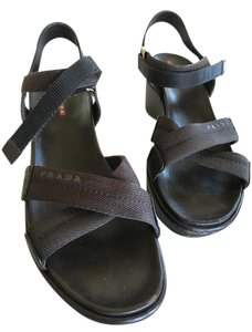 Prada Dark brown Sandals