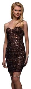 Scala Sequin Short Homecoming Dress