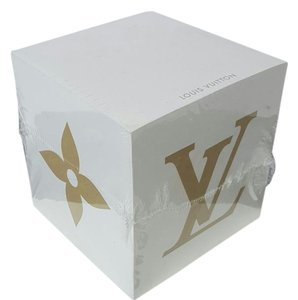 Louis Vuitton LOUIS VUITTON LOGO NOTE PAD CUBE