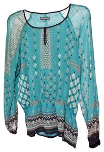 Adrianna Papell Top Teal