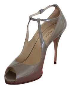 Valentino Patent Leather Patent Pump Nude/Taupe/Beige Pumps