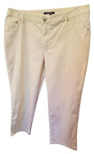 Roz & Ali Capri/Cropped Pants light yellow