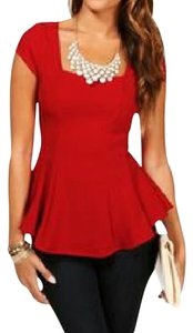 Windsor Top Red